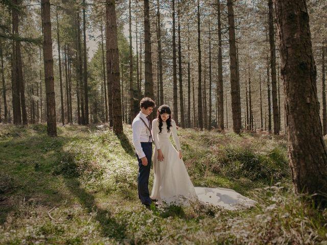 La boda de Iban y Silvia en Zeanuri, Vizcaya 54