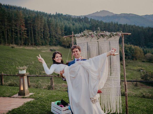La boda de Iban y Silvia en Zeanuri, Vizcaya 73