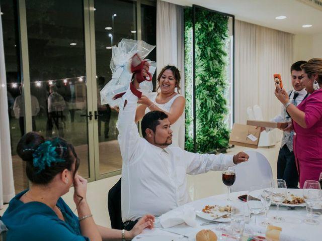 La boda de Alejandro  y Karla  en Oliva, Valencia 46