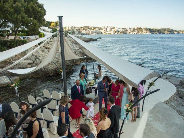La boda de Edu y Davinia en Illetas, Islas Baleares 11