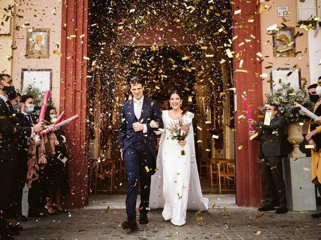 La boda de Leandro y Alcira en Sevilla, Sevilla 60