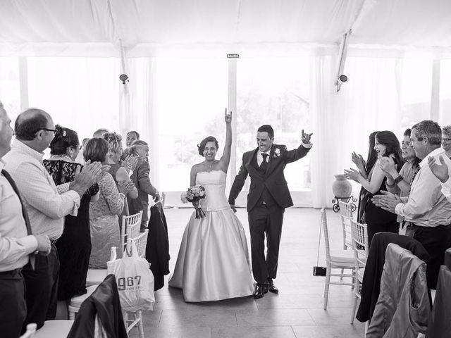 La boda de David y Cristina en Villamalea, Albacete 17