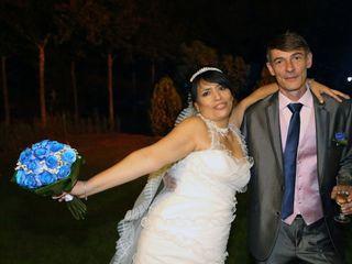 La boda de Mircea y Elena
