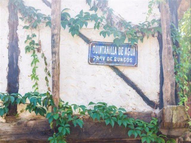 La boda de Oscar y Itxaso en Quintanilla Del Agua, Burgos 5