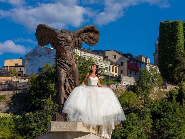 La boda de Adrian y Lorena en Ponferrada, León 23