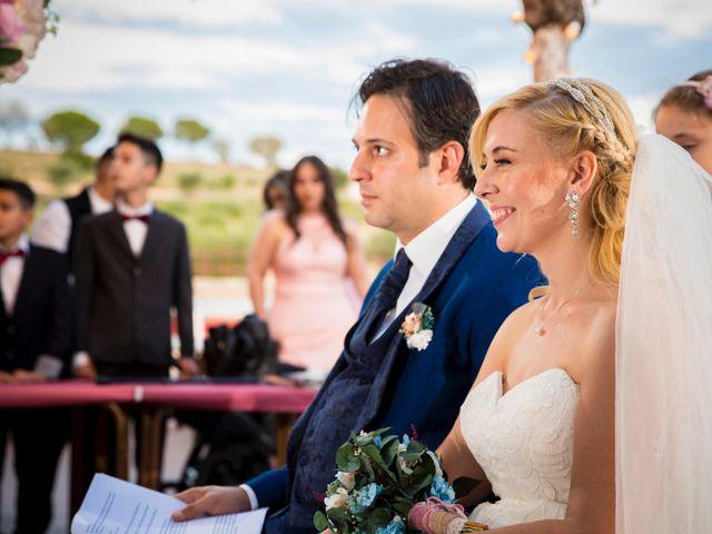 La boda de Eyad y Isabel en Campo Real, Madrid 17