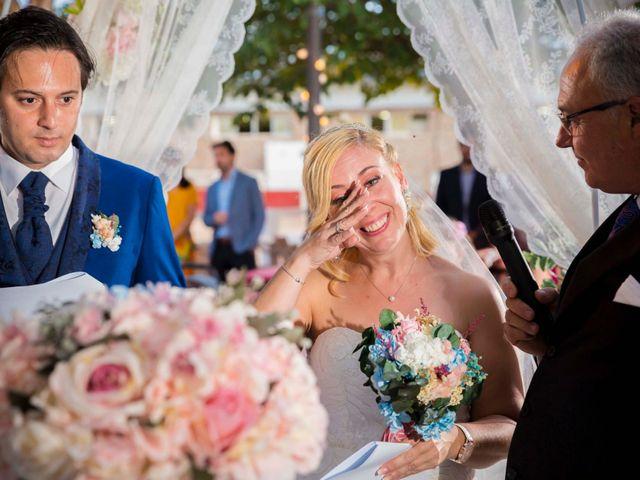 La boda de Eyad y Isabel en Campo Real, Madrid 18
