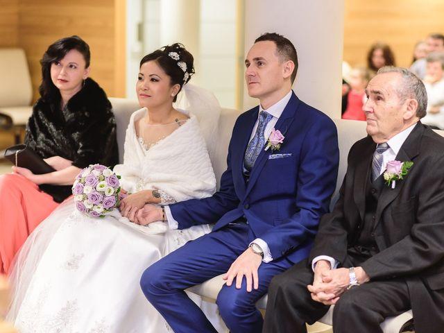 La boda de Princess y Glicerio en Getafe, Madrid 43