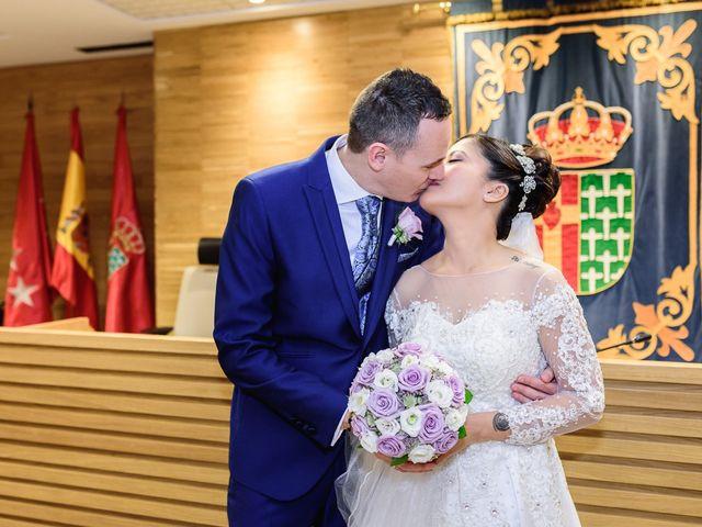 La boda de Princess y Glicerio en Getafe, Madrid 49