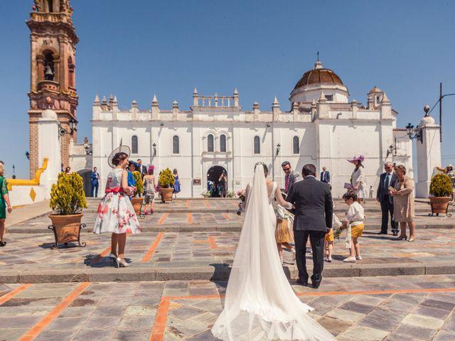 La boda de Jose Andrés y Almudena en Oliva De La Frontera, Badajoz 20