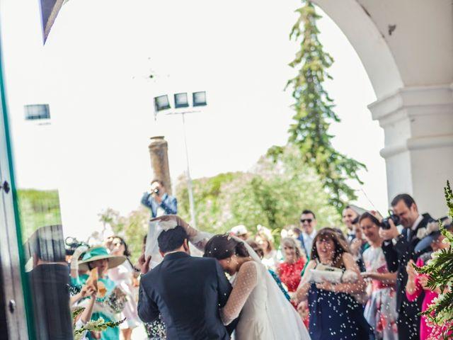 La boda de Jose Andrés y Almudena en Oliva De La Frontera, Badajoz 26