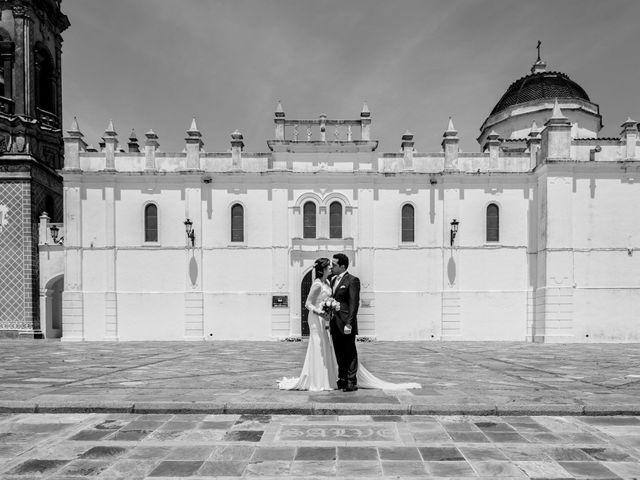La boda de Jose Andrés y Almudena en Oliva De La Frontera, Badajoz 27