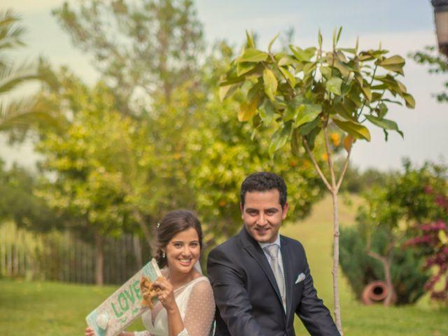 La boda de Jose Andrés y Almudena en Oliva De La Frontera, Badajoz 33