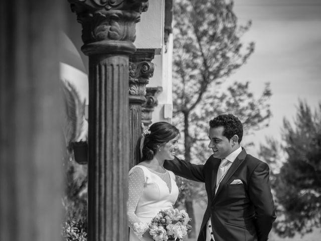 La boda de Jose Andrés y Almudena en Oliva De La Frontera, Badajoz 34