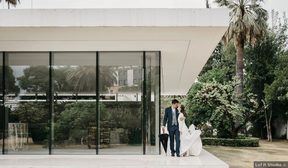 La boda de José Manuel y Cristina en Sevilla, Sevilla