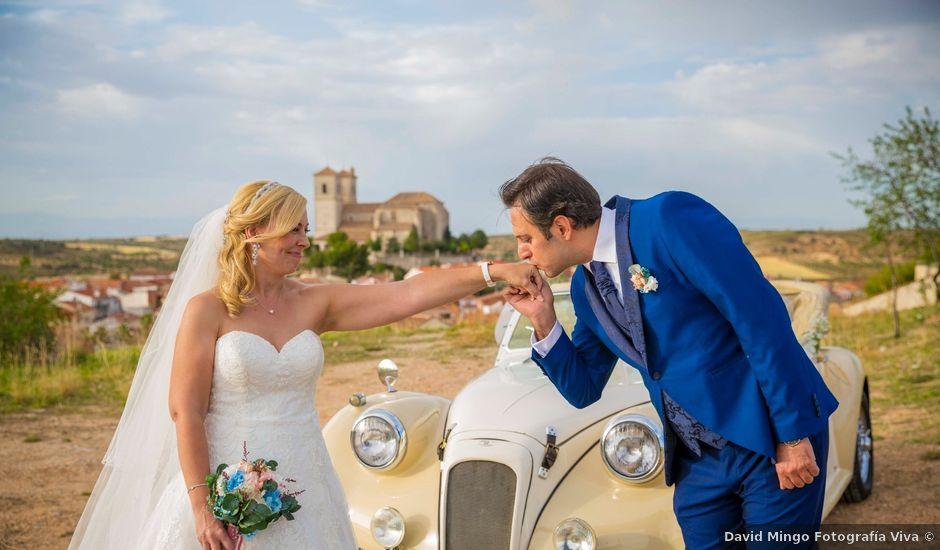 La boda de Eyad y Isabel en Campo Real, Madrid