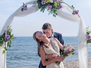 La boda de Barbara y Florian