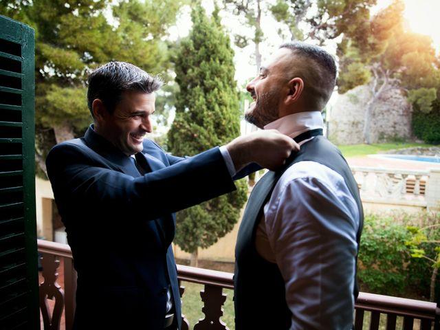La boda de Gabriele y Carla en Castelldefels, Barcelona 7