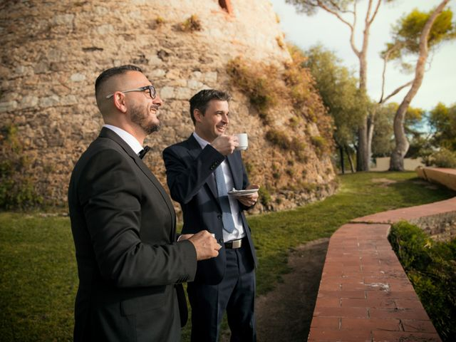 La boda de Gabriele y Carla en Castelldefels, Barcelona 9