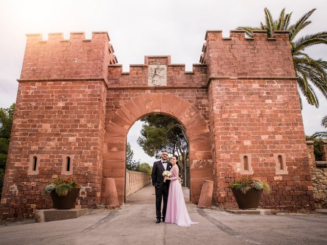 La boda de Gabriele y Carla en Castelldefels, Barcelona 2