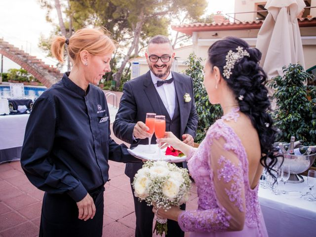 La boda de Gabriele y Carla en Castelldefels, Barcelona 100
