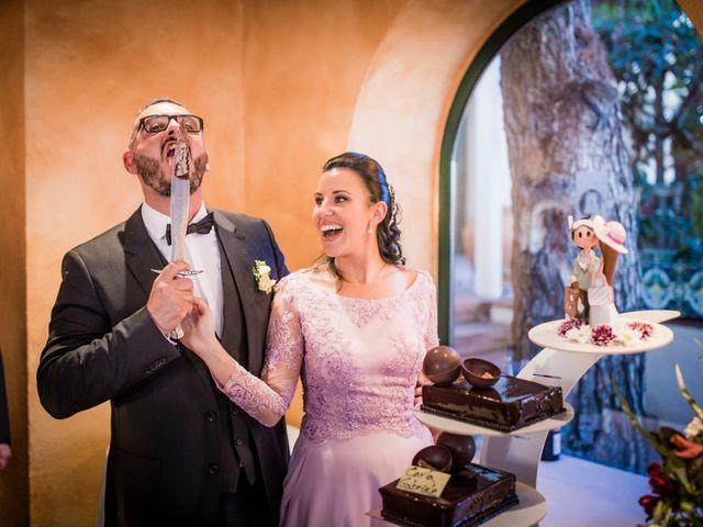 La boda de Gabriele y Carla en Castelldefels, Barcelona 129