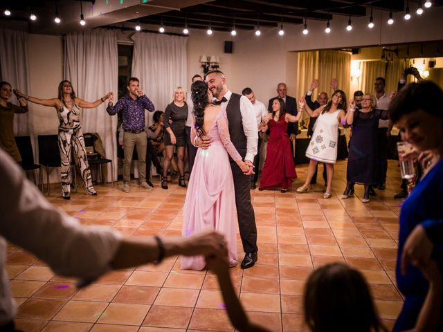 La boda de Gabriele y Carla en Castelldefels, Barcelona 205