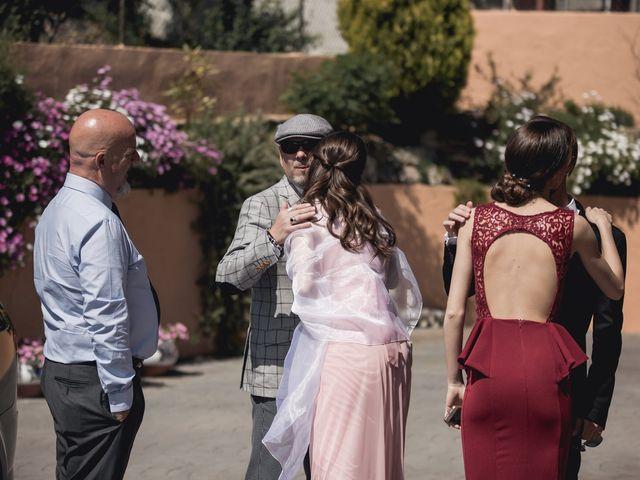 La boda de Carlos y Cristina en Sant Fost De Campsentelles, Barcelona 19