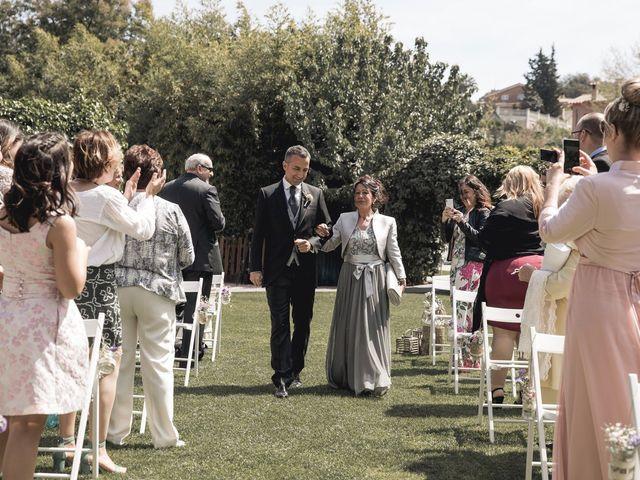 La boda de Carlos y Cristina en Sant Fost De Campsentelles, Barcelona 29