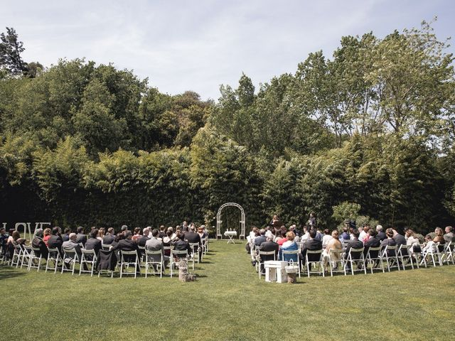 La boda de Carlos y Cristina en Sant Fost De Campsentelles, Barcelona 36