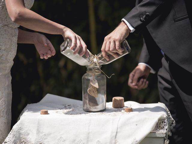 La boda de Carlos y Cristina en Sant Fost De Campsentelles, Barcelona 37