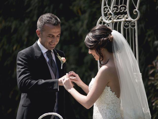 La boda de Carlos y Cristina en Sant Fost De Campsentelles, Barcelona 39
