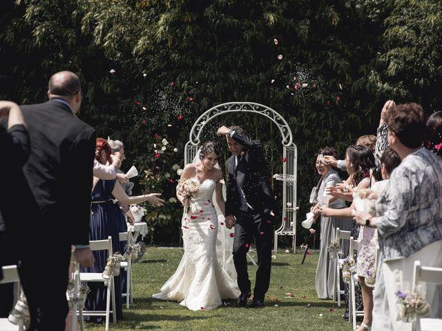 La boda de Carlos y Cristina en Sant Fost De Campsentelles, Barcelona 42