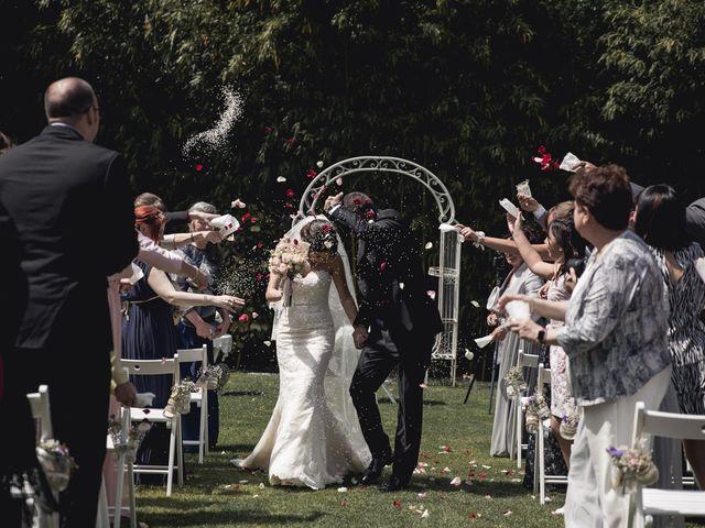 La boda de Carlos y Cristina en Sant Fost De Campsentelles, Barcelona 1