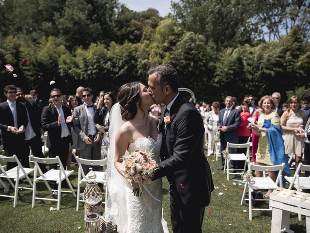 La boda de Carlos y Cristina en Sant Fost De Campsentelles, Barcelona 43
