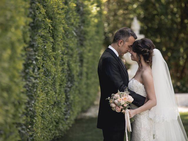 La boda de Carlos y Cristina en Sant Fost De Campsentelles, Barcelona 45