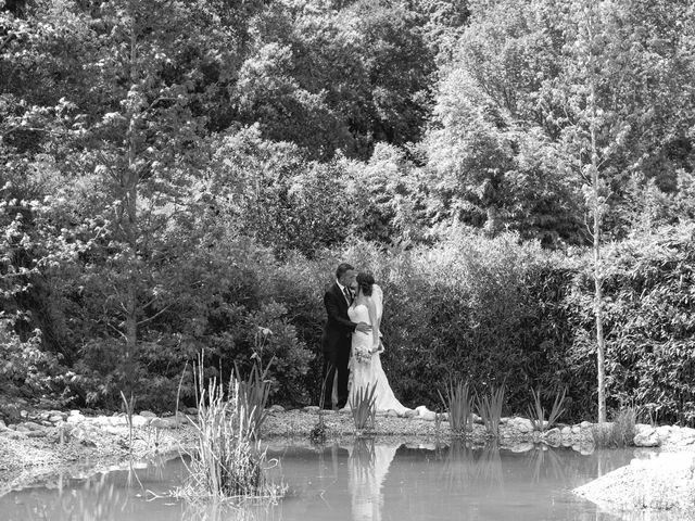 La boda de Carlos y Cristina en Sant Fost De Campsentelles, Barcelona 47
