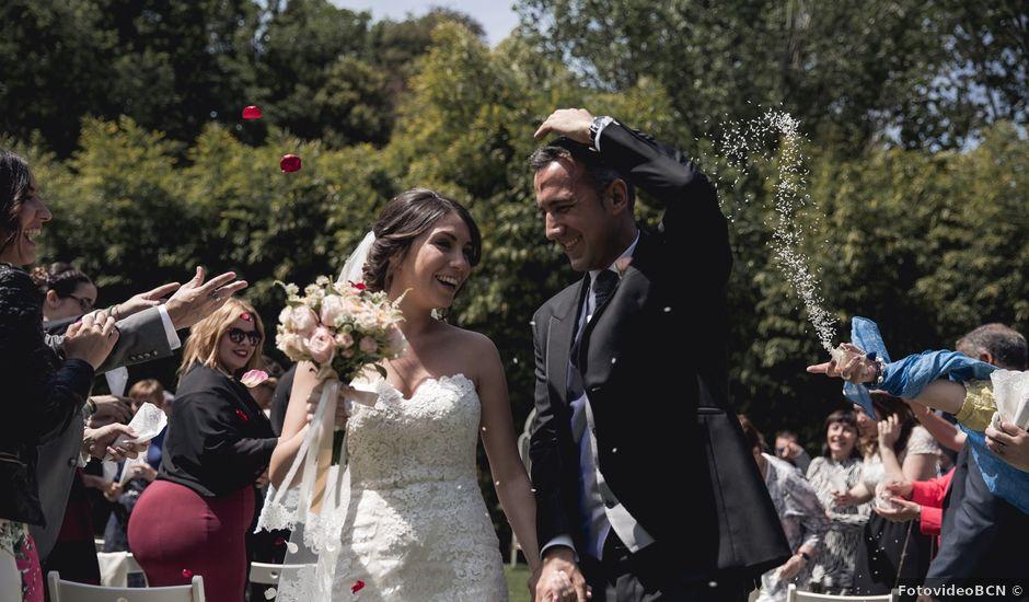 La boda de Carlos y Cristina en Sant Fost De Campsentelles, Barcelona