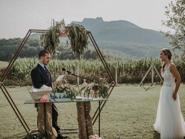 La boda de Adria y Alba