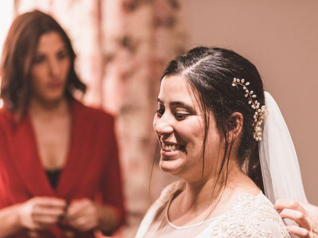 La boda de Miguel y Eva en Zarza De Alange, Badajoz 6