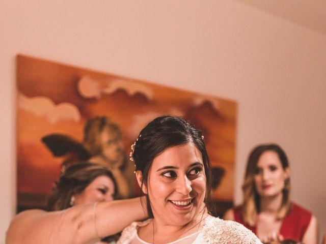 La boda de Miguel y Eva en Zarza De Alange, Badajoz 9