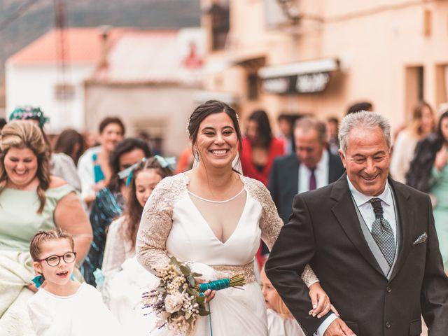 La boda de Miguel y Eva en Zarza De Alange, Badajoz 22