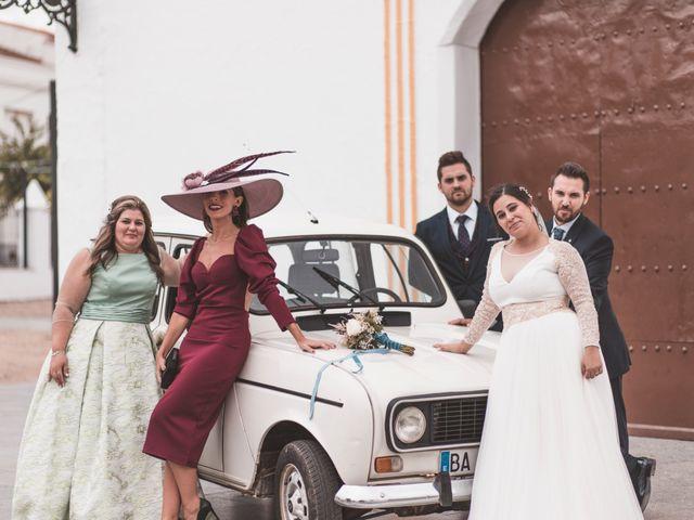 La boda de Miguel y Eva en Zarza De Alange, Badajoz 30
