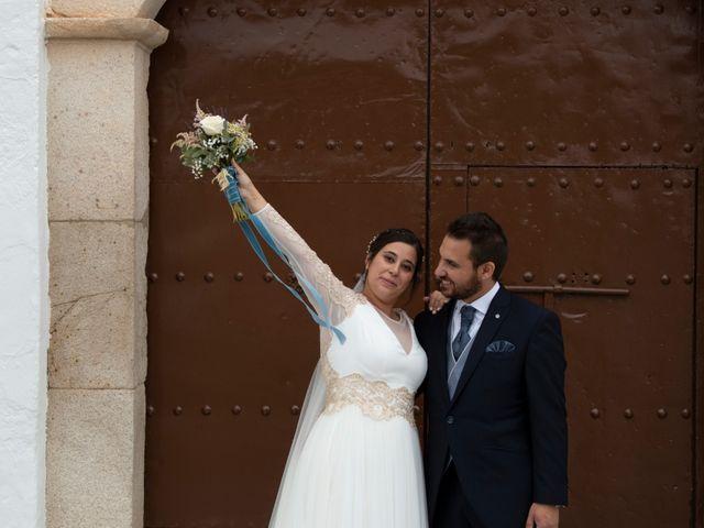 La boda de Miguel y Eva en Zarza De Alange, Badajoz 31