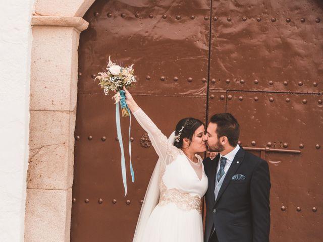 La boda de Miguel y Eva en Zarza De Alange, Badajoz 1