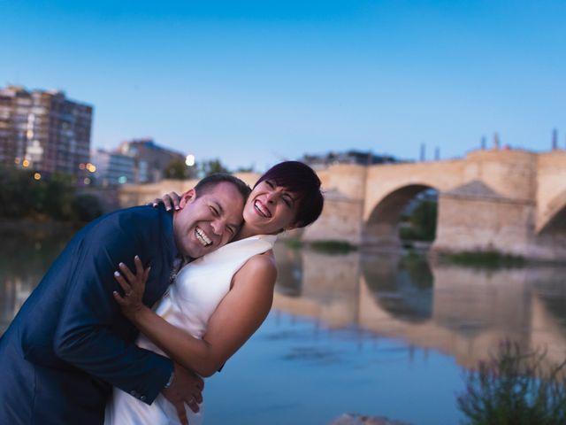 La boda de David y Carla en Zaragoza, Zaragoza 43