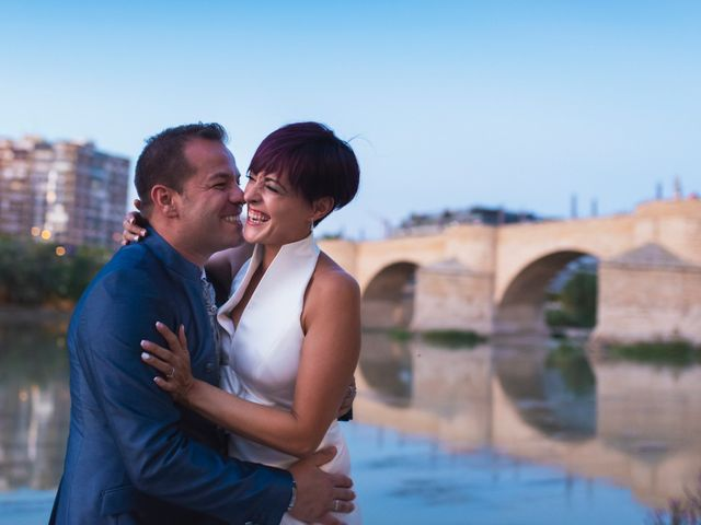 La boda de David y Carla en Zaragoza, Zaragoza 44