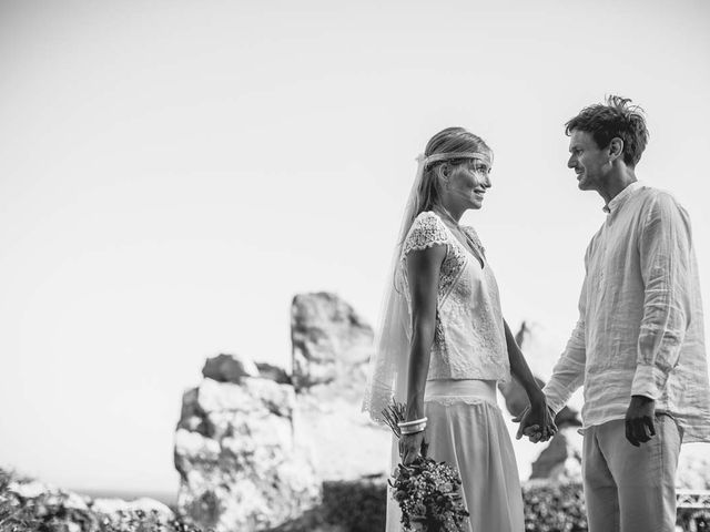 La boda de Lucía y Tomy