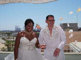 La boda de Lorenzo y Sushila