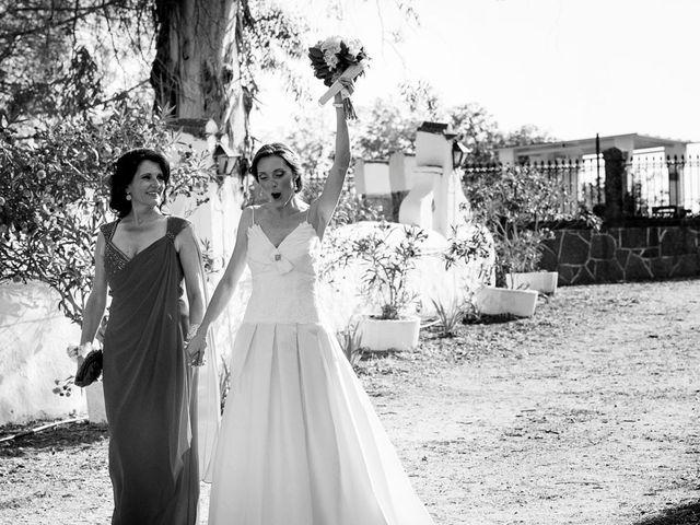 La boda de Alberto y Eva en Navas Del Madroño, Cáceres 24